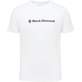 Black Diamond Brand Kurzarm T-Shirt Herren white